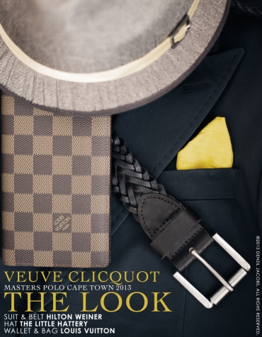 The Look, Veuve Clicquot Masters Polo 2013, Denzil Jacobs, Hilton Weiner, Louis Vuitton (by Denzil Jacobs)