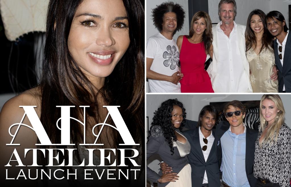 AHA Atelier Launch, Natalie Becker, Marc Lottering, Tanya Nefdt, Bjorn Steinbach, Sue Duminy, Thandie Kupe (by Denzil Jacobs)