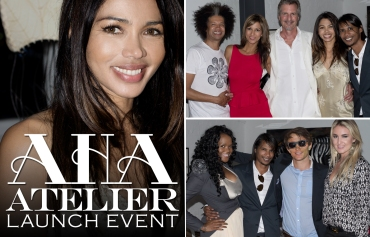 AHA Atelier Launch, Natalie Becker, Marc Lottering, Tanya Nefdt, Bjorn Steinbach, Sue Duminy, Thandie Kupe (by Denzil Jacobs)