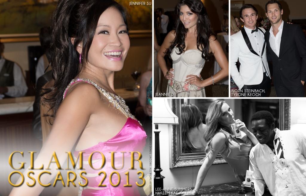 Glamour Oscars 2013, Jennifer Su, Jeannie D, Ty Keogh, Lee-Anne Summers, Bjorn Steinbach, Hakeem Kae-Kazim (by Denzil Jacobs)