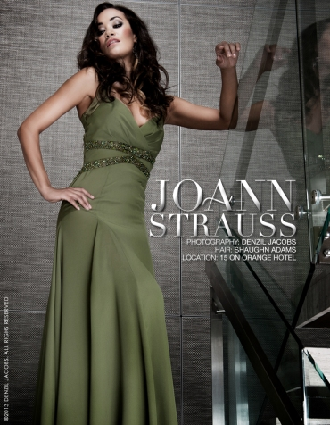 Jo-Ann Strauss (by Denzil Jacobs)