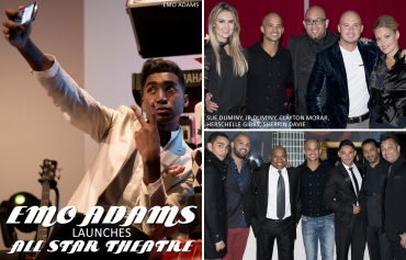 Emo Adams, All Star Theatre Launch, Sue Duminy, JP Duminy, Clayton Morar, Herschelle Gibbs, Sherrin Davie (by Denzil Jacobs)