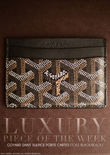 Luxury, April Week 2, Goyard Paris (by Denzil Jacobs)