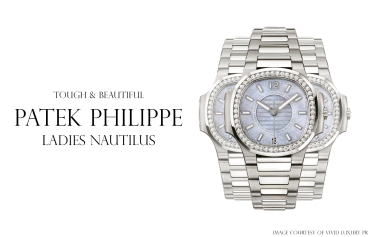 Patek Philippe Ladies Nautilus, Vivid Luxury PR (Denzil Jacobs)