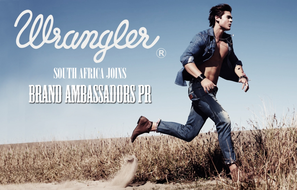 Wrangler Denim South Africa, Brand Ambassadors PR (by Denzil Jacobs)