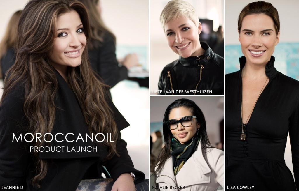Moroccan Oil, Jeannie D, Natalie Becker, Liezel van der Westhuizen, Lisa Cowley (by Denzil Jacobs)