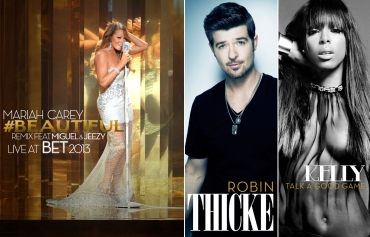 Mariah Carey, Beautiful, Miguel, Young Jeezy, Jeezy, BET 2013, Robin Thicke, Blurred Lines, Kelly Roland, Talk A Good Game (by Denzil Jacobs)