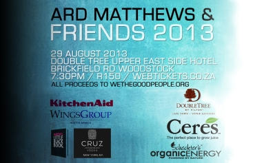 Ard Matthews and Friends 2013 (by Denzil Jacobs)