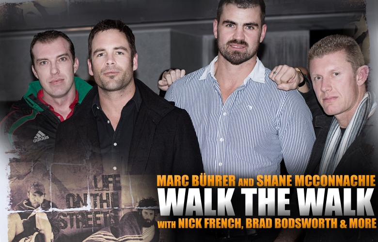 Walk The Walk, Dare To Share, Marc Buhrer, Shane McConnachie, Nick French, Brad Bodsworth, Dene Botha, 15 on Orange Hotel, African Pride Hotels (by Denzil Jacobs)