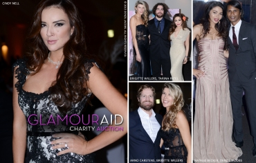 Glamour Aid Charity Event, Cindy Nell, Brigitte Willers, Tarina Patel, Arno Carstens, Natalie Becker, Denzil Jacobs (by Denzil Jacobs)