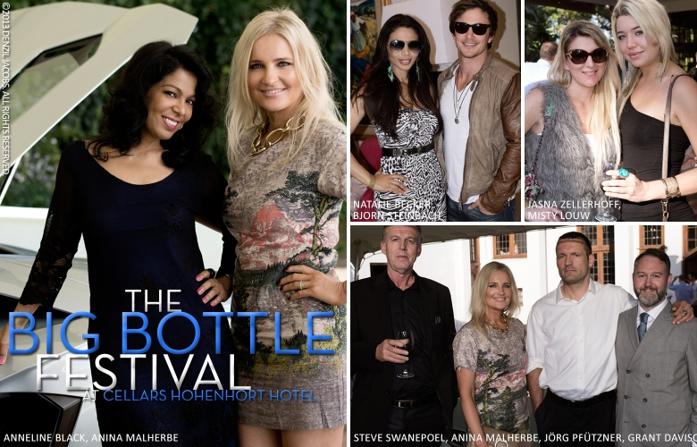 The Big Bottle Festival, Natalie Becker, Bjorn Steinbach, Misty Louw, Jasna Zellerhoff, Anina Malherbe (by Denzil Jacobs)
