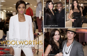 Woolworths, Fashion Convo, Cape Town, Bonang Matheba, Leigh-Anne Williams, Siv Ngesi, Tanya Nefdt, Karisa Nicholls, Bjorn Steinbach (by Denzil Jacobs)