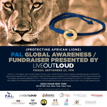 PAL, Conor Mccreedy, Protecting African Lions, Invitation