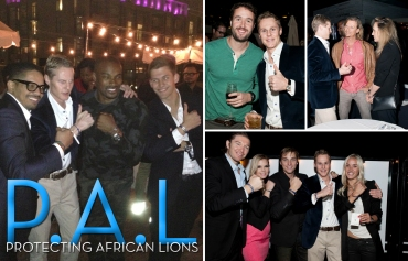 Protecting African Lions, PAL, Conor Mccreedy, Tyson Beckford