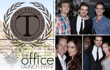 02.17 The Office, Nick French, Cindy Nell, The Office, Cape Town (by Denzil Jacobs)