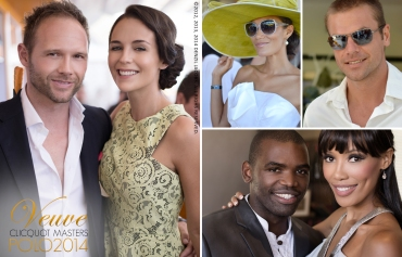 02.26 Veuve Clicquot Masters Polo 2014, Tanya van Graan, Ryk Neethling, Leigh-Anne Williams, Jo-Ann Strauss, Siv Ngesi (by Denzil Jacobs)