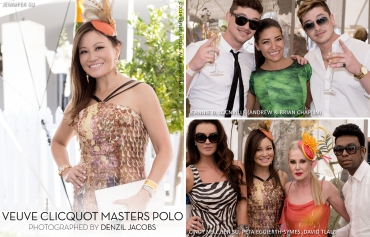03.20 Veuve Clicquot, Masters Polo 2014, Cindy Nell, Jennifer Su, Peta Eggierth-symes, David Tlale, Locnville, Jeannie D, Andrew Chaplin, Brian Chaplin (by Denzil Jacobs)