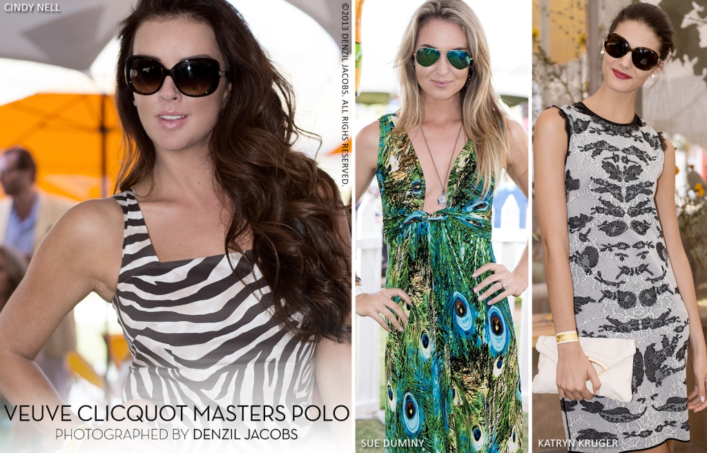 03.20 Veuve Clicquot, Masters Polo 2014, Cindy Nell, Sue Duminy, Katryn Kruger (by Denzil Jacobs)