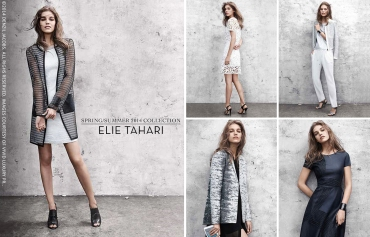 04.01 Elie Tahari, Spring Summer 2014, SS2014, SS14, Collection (by Denzil Jacobs)