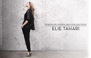 04.01 Elie Tahari, Spring Summer 2014, SS2014, SS14 Collection (by Denzil Jacobs)