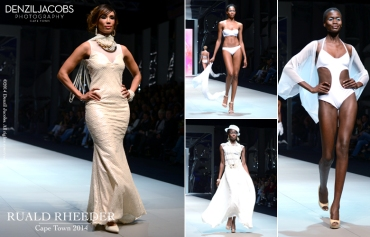 08.03 Fashion Week 2014, Cape Town, AFI, Mercedes-Benz, Ruald Rheeder, Leigh-Anne Williams (by Denzil Jacobs)